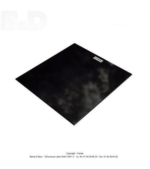 Planche à découper verre noire PLAPOX