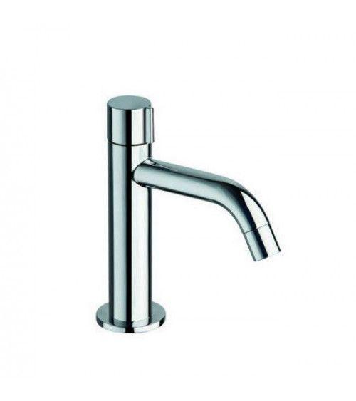 Robinet lave-mains eau froide sans vidage, chromé - TRIVERDE