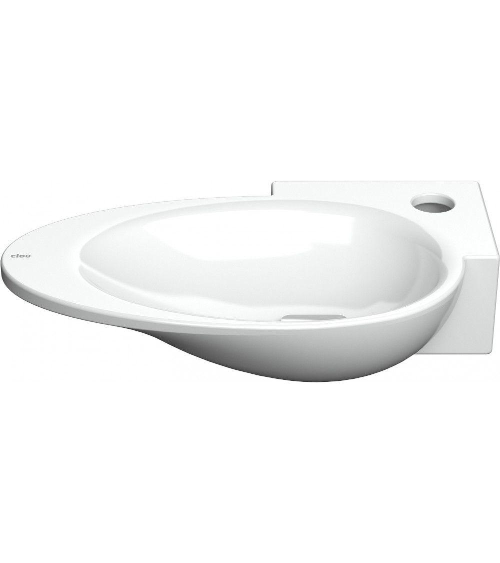 first lave mains ceramique blanche clou. Black Bedroom Furniture Sets. Home Design Ideas