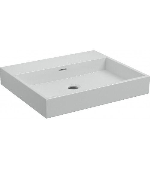 Lavabo 50cm ceramique blanche - WASH ME