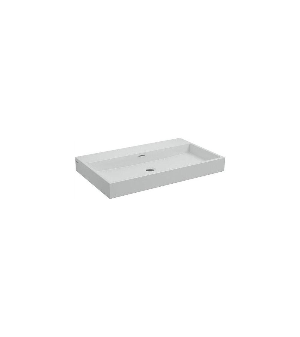 Lavabo 70cm ceramique blanche - WASH ME