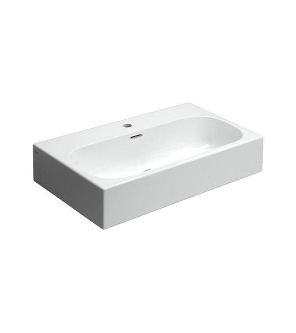 MATCH ME Lavabo 70cm ceramique blanche
