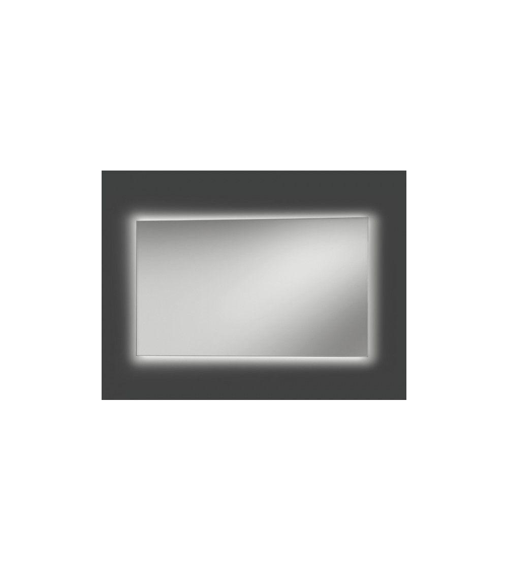 Miroir 60 x 140cm led diffusion tld1 artelinea for Miroir 140x60