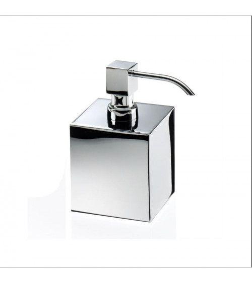 Distributeur de savon carré chromé - DW 475