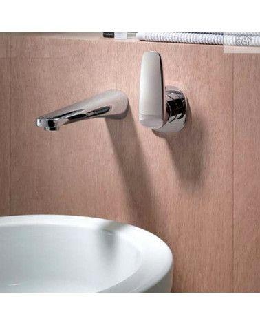 Mitigeur monocommande de lavabo mural