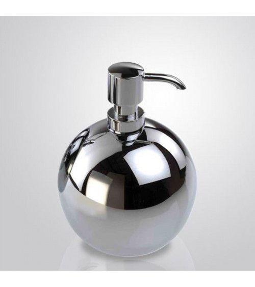 Distributeur de savon chromé 420ml à poser