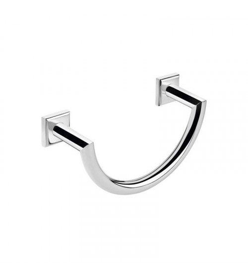 Porte-serviettes mural anneau Kubic Class à fixer ou à coller