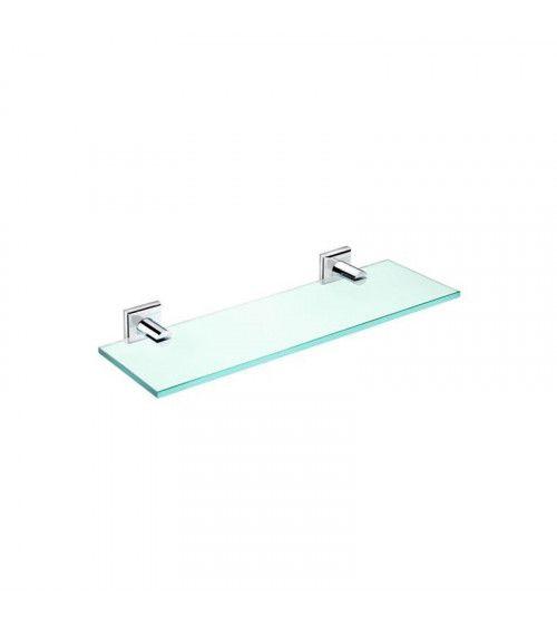 Tablette en verre 40cm Kubic Class à fixer ou à coller