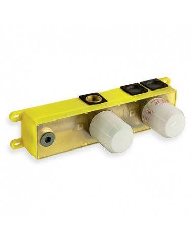 Mécanisme box à encastrer pour lavabo 3 sorties