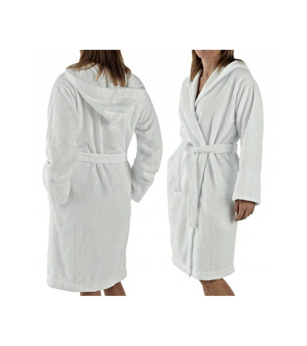 Peignoir luxe Capuz Twill Robe - 100