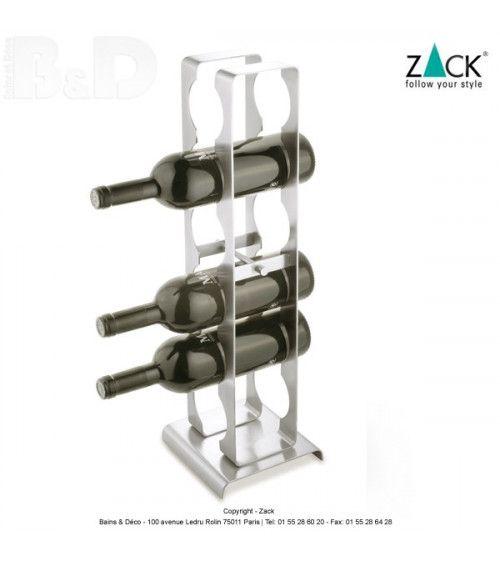 Range-bouteilles de la collection de Zack