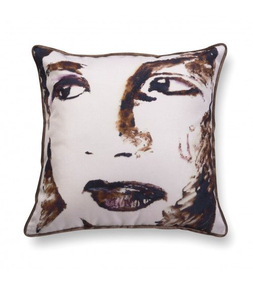 Coussin en velours - Big Girl 1