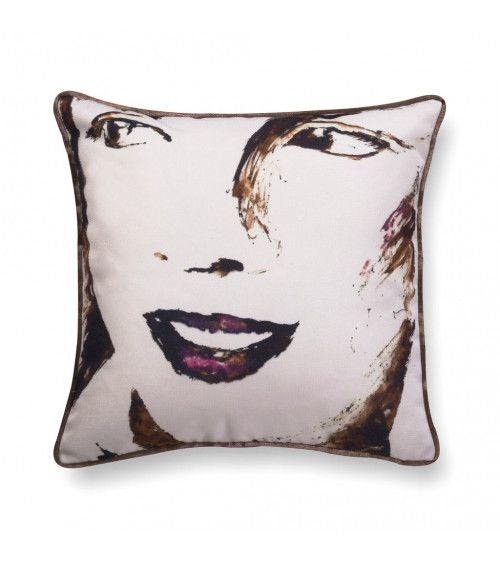 Coussin en velours - Big Girl 2
