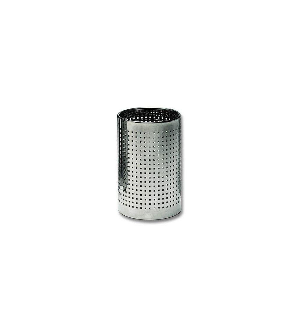 Corbeille à papier ronde chromée - DW 102
