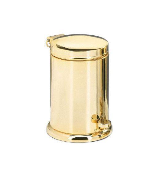 Poubelle à pédale gold - TE 37