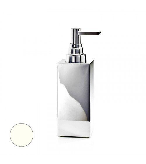 Distributeur de savon blanc mat à poser 200ml - DW 360