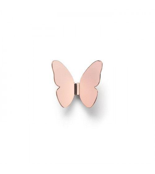 "Porte manteau ""Single Butterfly"" Bronze- Ghidini 1961"