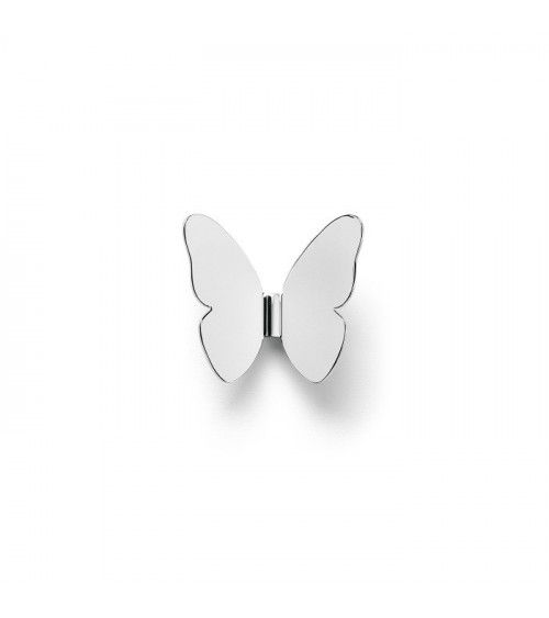 "Porte manteau ""Single Butterfly"" Chrome- Ghidini 1961"