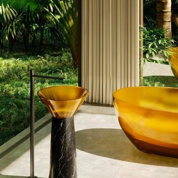 Ajoutez de la couleur à vos salles de bains pour plus de fraîcheur ! ☀️  Bains & Déco vous accueille dans ses showrooms parisiens dans le respect des gestes barrières !  N'hésitez pas à prendre rendez-vous sur notre site bainsetdeco.fr (Lien dans la bio) ✨  Salle de bains by Antonio Lupi✨  #bainsetdeco #bathroom #design #luxurylifestyle #luxuryhomes #collection #exlusivity #showrooms #Paris #antoniolupi  #love #beautiful #luxury #deco #decorationdinterieur #interieur