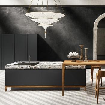 Envie de changer de cuisine? L'équipe Bains et Déco vous aide à imaginer et concevoir la cuisine qui vous correspondra.⠀ ⠀ Prenez rendez-vous dans l'un de nos trois showrooms parisiens.⠀ ⠀ Lien du site dans la bio 🧞⠀ ⠀ Cuisine acier by Euromobil ✨⠀ ⠀ #bainsetdeco #bathroom #design #luxurylifestyle #luxuryhomes #collection #exlusivity #showrooms #euromobil #paris #love #beautiful #luxury #deco #decorationdinterieur #interieur #instadaily #metal #kitchen