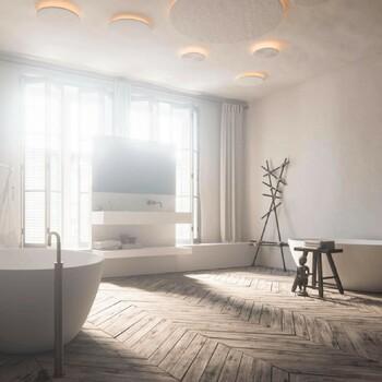 Élégant et chaleureux, le parquet est aujourd'hui souvent utilisé dans la salle de bains 👌  Bains & Déco vous accueille dans ses showrooms parisiens dans le respect des gestes barrières !  N'hésitez pas à prendre rendez-vous sur notre site bainsetdeco.fr (Lien dans la bio) ✨  By Cocoon ✨  #bainsetdeco #bathroom #design #luxurylifestyle #luxuryhomes #collection #exlusivity #showrooms #Paris #cocoon #love #beautiful #luxury #deco #decorationdinterieur #interieur