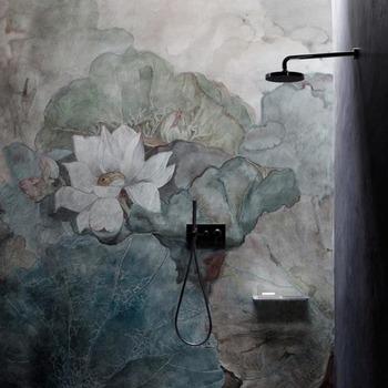 L'art de jouer avec la nature, pour un rendu vivant et élégant.   Chaque détail compte, n'hésitez pas à nous contacter pour des conseils ✨  Lien du site dans la bio 🧞  Salle de bains by Wall & Deco ✨⠀  #bainsetdeco #bathroom #design #luxurylifestyle #luxuryhomes  #collection #exlusivity #showrooms #wall&deco #paris #love #beautiful #luxury #deco #decorationdinterieur #interieur #instadaily #douche #salledebains #bains