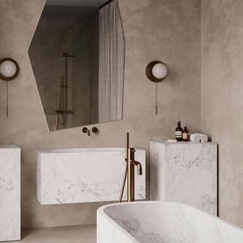 Nous avons pris le parti de capturer l'essence d'une modernité intemporelle en l'associant à un minimalisme solide et chaleureux 🤩  Bains & Déco vous accueille dans ses showrooms parisiens dans le respect des gestes barrières !  N'hésitez pas à prendre rendez-vous sur notre site bainsetdeco.fr (Lien dans la bio) ✨  By Cocoon ✨  #bainsetdeco #bathroom #design #luxurylifestyle #luxuryhomes #collection #exlusivity #showrooms #Paris #cocoon #love #beautiful #luxury #deco #decorationdinterieur #interieur